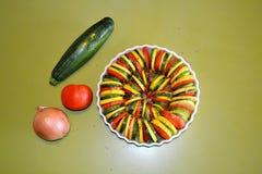 Gemüsekasserolle Lizenzfreies Stockbild