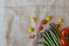 Gemüsekochfertiges eine große Mahlzeit Stockfotografie