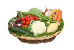 Gemüsekorb. Lizenzfreies Stockbild