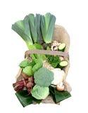 Gemüsekorb. Stockbild
