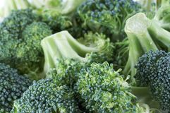 Gemüsemakro Lizenzfreies Stockfoto