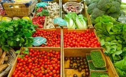 Gemüsemarkt Lizenzfreie Stockfotos