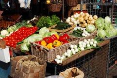 Gemüsemarkt Lizenzfreies Stockbild