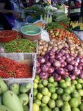 Gemüsemarkt Lizenzfreie Stockfotografie