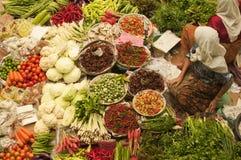 Gemüsemarkt Stockfoto