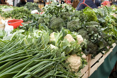 Gemüsemarkt in Zagreb Lizenzfreie Stockbilder