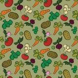 Gemüsemuster Lizenzfreie Stockfotografie