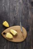 Gemüsepaprika im Holz Stockfoto