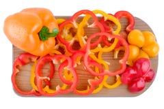 Gemüsepaprikaisolat Stockbilder
