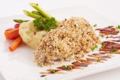 Gemüsepizza Stockfoto