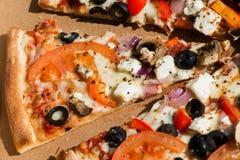 Gemüsepizza Stockfotos