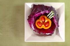 Gemüseplatte Stockfotografie