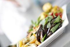 Gemüseplatte Stockbild