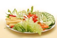 Gemüseplatte Lizenzfreies Stockfoto