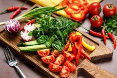 Gemüseplatte Stockfoto
