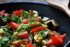 Gemüseratatouille Stockbilder