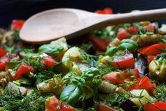 Gemüseratatouille Lizenzfreie Stockfotos