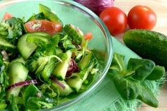 Gemüsesalat Stockfoto