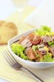 Gemüsesalat mit Thunfisch Lizenzfreies Stockbild