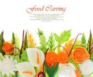 Gemüseschnitzen Lizenzfreies Stockfoto