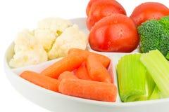 Gemüseservierplatte Lizenzfreie Stockfotos