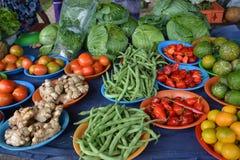 Gemüsestall Stockbild