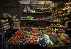 Gemüsestand Stockbilder