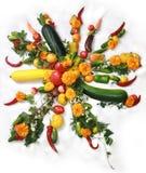 GemüseSun Lizenzfreie Stockfotos