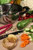 Gemüsesuppe Stockfotos