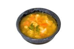 Gemüsesuppe in einer Schüssel Lizenzfreie Stockfotografie