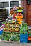Gemüsesystem in Gorinchem. Stockbild