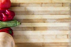 Gemüsetabelle stockfotografie
