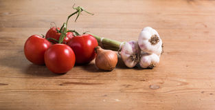 Gemüsetabelle Lizenzfreie Stockfotos