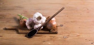 Gemüsetabelle Lizenzfreies Stockbild