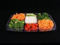 Gemüsetellersegment #1 stockbild
