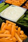 Gemüsetellersegment Lizenzfreie Stockbilder