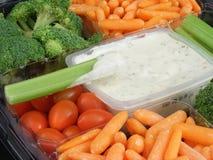 Gemüsetellersegment #5 stockbild