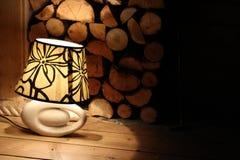 Gemütliche Lampe lizenzfreie stockbilder