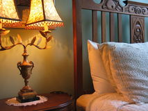 Gemütliche Schlafzimmer-Szene Lizenzfreies Stockbild