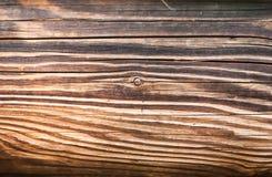 Gemütlicher abstrakter Hintergrund einer schäbigen Holzoberfläche des hellen bro Lizenzfreie Stockfotografie