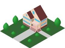 Gemütlicher Hausvektor Lizenzfreie Stockbilder