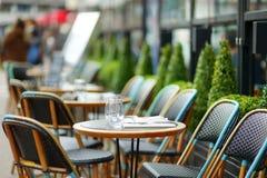 Gemütliches Café im Freien Lizenzfreies Stockbild