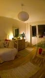 Gemütliches Schlafzimmer stockfoto