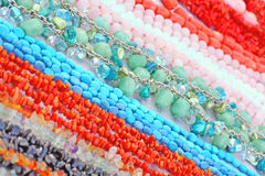 Gem beads Stock Image