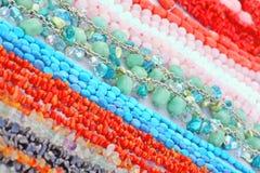 Gem beads Stock Image