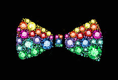 Gem Bow Tie Royalty Free Stock Images