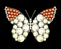 Gem Butterfly Photographie stock