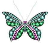 Gem Butterfly Photographie stock libre de droits