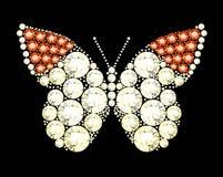 Gem Butterfly Stock Photography