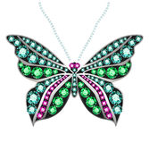 Gem Butterfly Royalty Free Stock Photography